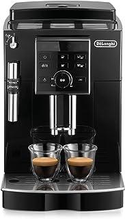 De'Longhi德龙 ECAM 25.120.B全自动咖啡机  按键和旋转按钮设置  专?#30340;?#27873;喷嘴  2杯功能  13档粗细?#24515; 可拆卸萃取机芯 黑