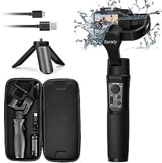 Hohem iSteady Pro 2 3-Axis Splash Proof Gimbal Stabilizer para GoPro Camera Gimbal con trípode Control de aplicación para Gopro Hero 7 / SJCAM/YI/Sony RX0 [Versión Mejorada 2019]