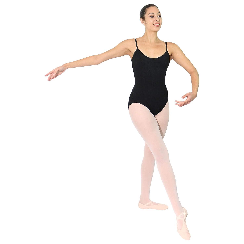 DANSHOW Women Camisole Leotards for Dance Ballet with Adjustable Straps
