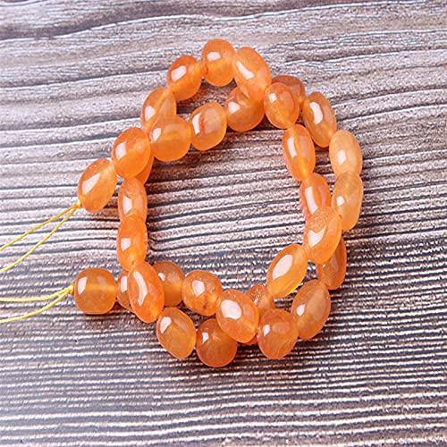 Joyas Bricolaje Joyería de Moda Deep Ruby8x12MM Beads Sueltas Pulsera de Cuentas Redondas Collar Adecuado para Hombres y Mujeres DIY Charm Amuleto