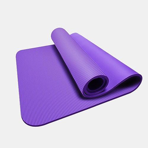 Seba5 Home Tapis de Yoga pour Dame, Tapis de Yoga pour débutant, Fitness, épaississeHommest de Trois pièces, élargi, Long Tapis de Yoga antidérapant