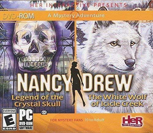 Nancy Drew 2 Pack Crystal Skull & White Wolf