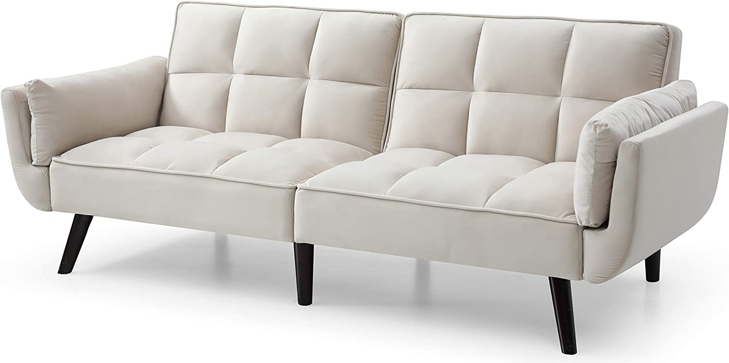 Glory Furniture NEW Laurel Beige Spring new work one after another Sofabed
