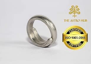 ASTRO HUB Silver Ranga Ring for Women