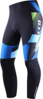 sponeed Cycling Long Tights Leggings Biking Pants with Padding UV Proof