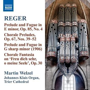 Reger: Organ Works, Vol. 10