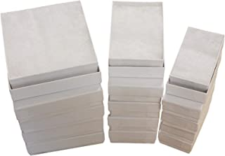 Cotton Filled Jewelry Gift Box (White Swirl) Assorted 3 Sizes 5 of Each # 33-32-21