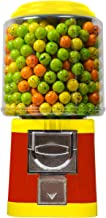 Gumball Vending Machine & Bouncy Balls Vending Machine & Toys Vending Machine & Capsule Vending Machine - Red Body & Yellow Trim - without stand