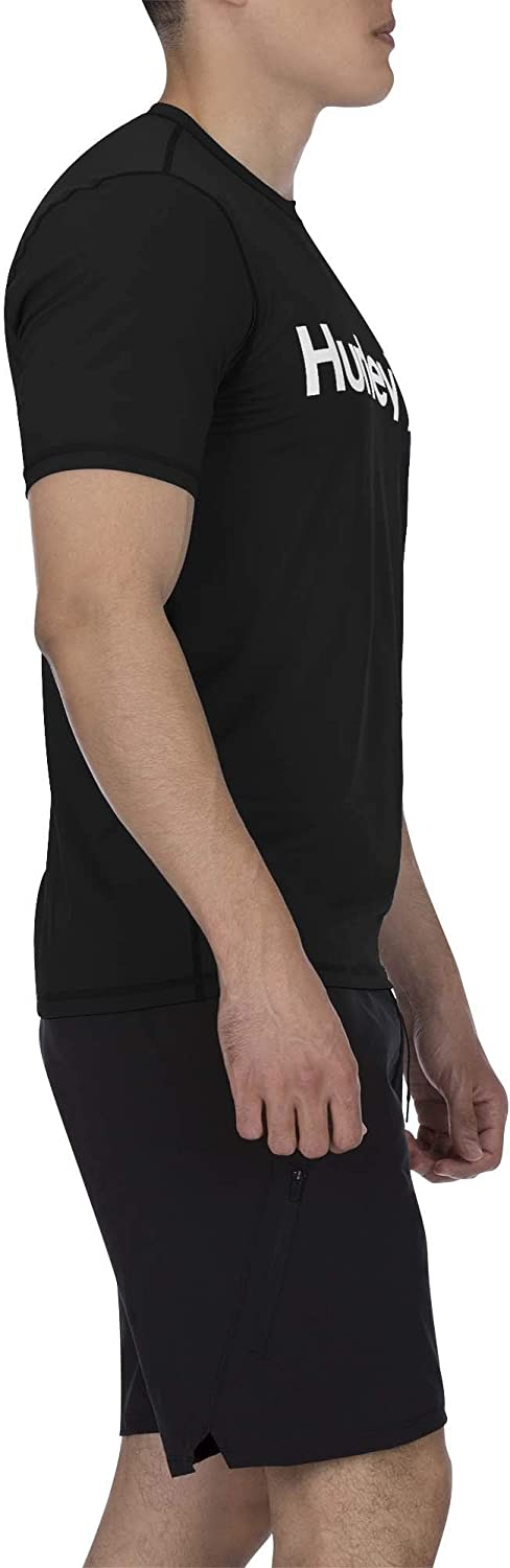 Hurley Men's One and Only Short Sleeve Sun Protection Rashguard