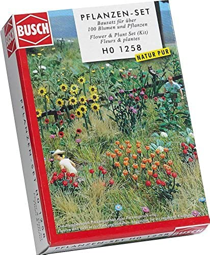 Flower and plant set 100 pcs by Busch Environnement