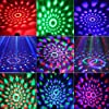 Sound Activated Party Lights with Remote Control Dj Lighting, RGB Disco Ball, Strobe Lamp 7 Modes Stage Par Light for Home Room Dance Parties Birthday DJ Bar Karaoke Xmas Wedding Show Club Pub #5