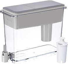 آبگرمکن آب فیلتر شده Britta Extra Large 18 با 1 فیلتر استاندارد ، BPA رایگان - UltraMax ، خاکستری