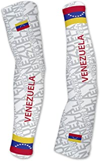 Venezuela ScudoPro Compression Arm Sleeves UV Protection Unisex - Walking - Cycling - Running - Golf - Baseball - Basketball