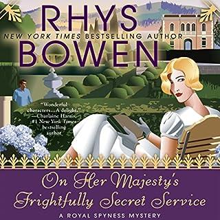 On Her Majesty's Frightfully Secret Service cover art