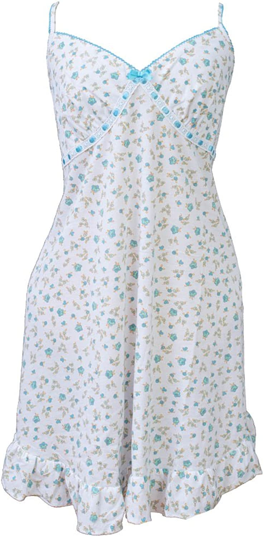 Girl Style Women's Night Gown, Floral Print Womens Sleepwear L1010