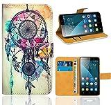 FoneExpert® Huawei Honor 4X Handy Tasche, Wallet Hülle Flip Cover Hüllen Etui Ledertasche Lederhülle Premium Schutzhülle für Huawei Honor 4X