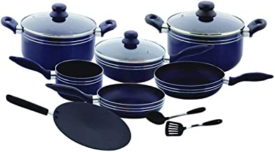 Royal ford Non Stick Cookware Set RF5858 12 Pieces, Blue