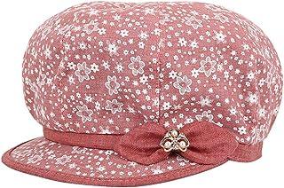 ChenXi Store Womens Rhinestone Baseball Cap Fashion Winter Warm Knit Hat Woolen Snow Ski Caps with Visor