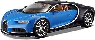 2016 Bugatti Chiron Blue 1/18 Diecast Model Car
