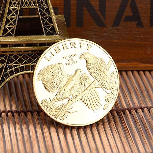 Estados Unidos,Ave Nacional,el Águila Calva,Monedas,Oro,Emblema,Hermo