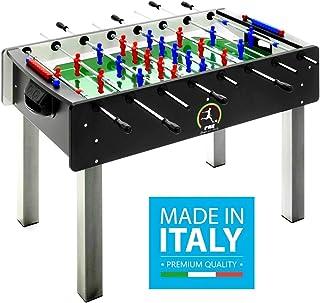 564566e8613593 Calciobalilla FAS PRO ITALY NERO Aste Uscenti Palline + SPRAY LUBRIFICANTE  - ESCLUSIVA ITALIA - NOVITA