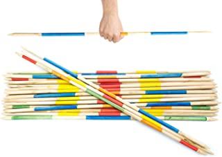 Striker Games - Mikado Giant Pick-Up Sticks - Giant Outdoor Games/Outdoor Toys Factory Defect