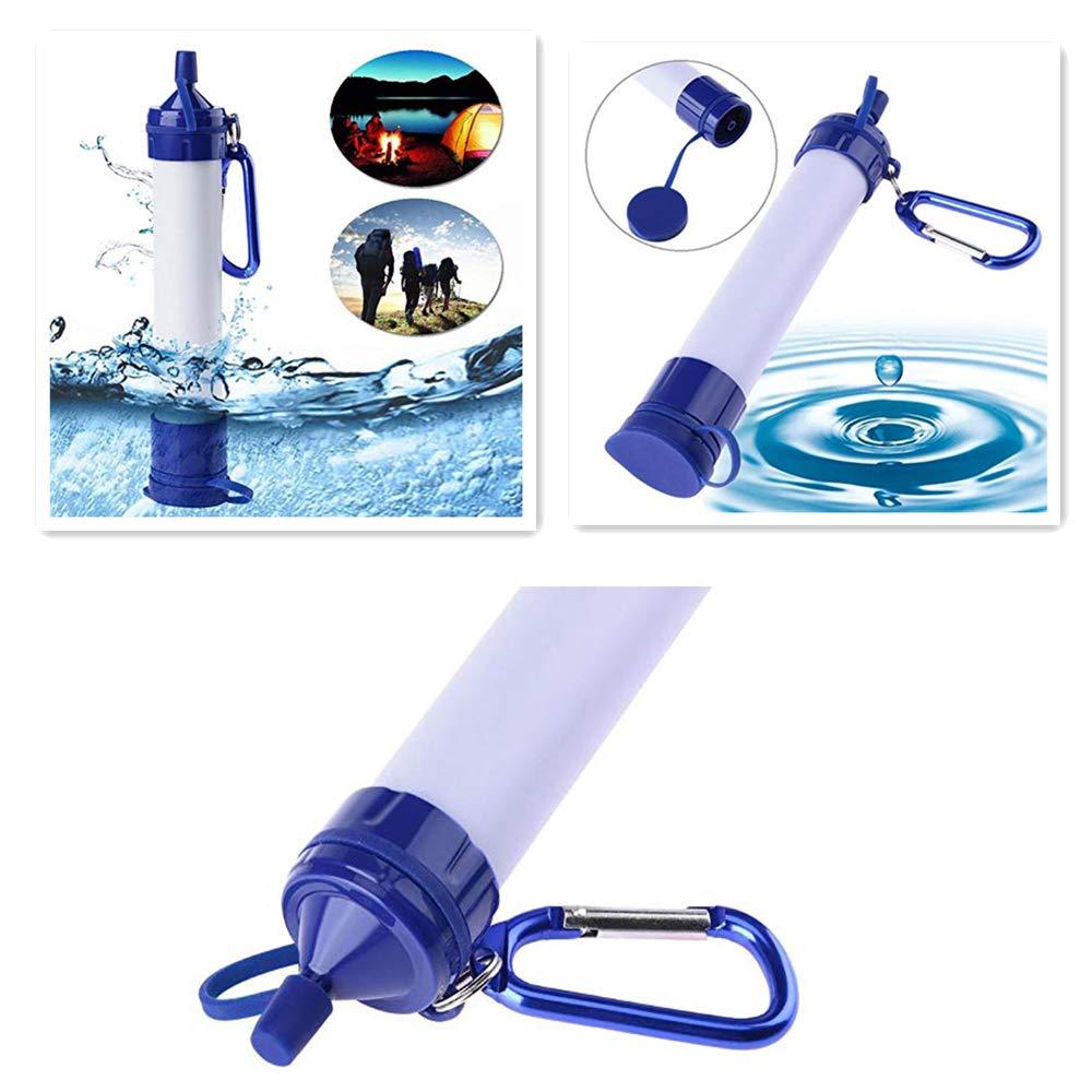 Filtro de superviviente purificador de agua portátil reutilizable ...
