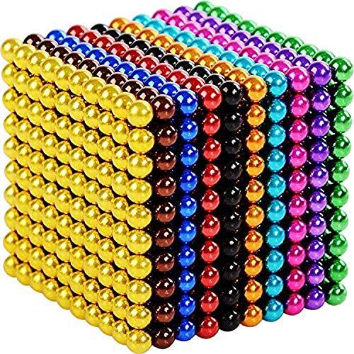 1000 Stück Cube Multicolor Gadget Toys Seltene Erde Büro Schreibtisch Toy Desk Spiele Stressabbau Spielzeug für Erwachsene