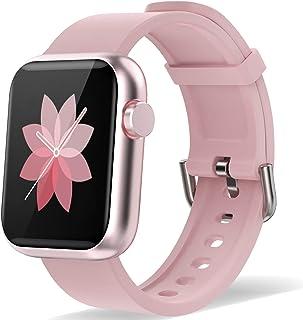Reloj inteligente para hombre y mujer, impermeable, con segu