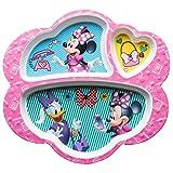 Zak Designs Kids Divided Plates, Disney Minnie Mouse & Daisy