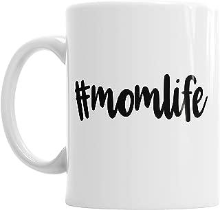 Moson Hashtag Momlife Life Mother's Day Mummy Mum Mother Ceramic Novelty Mug