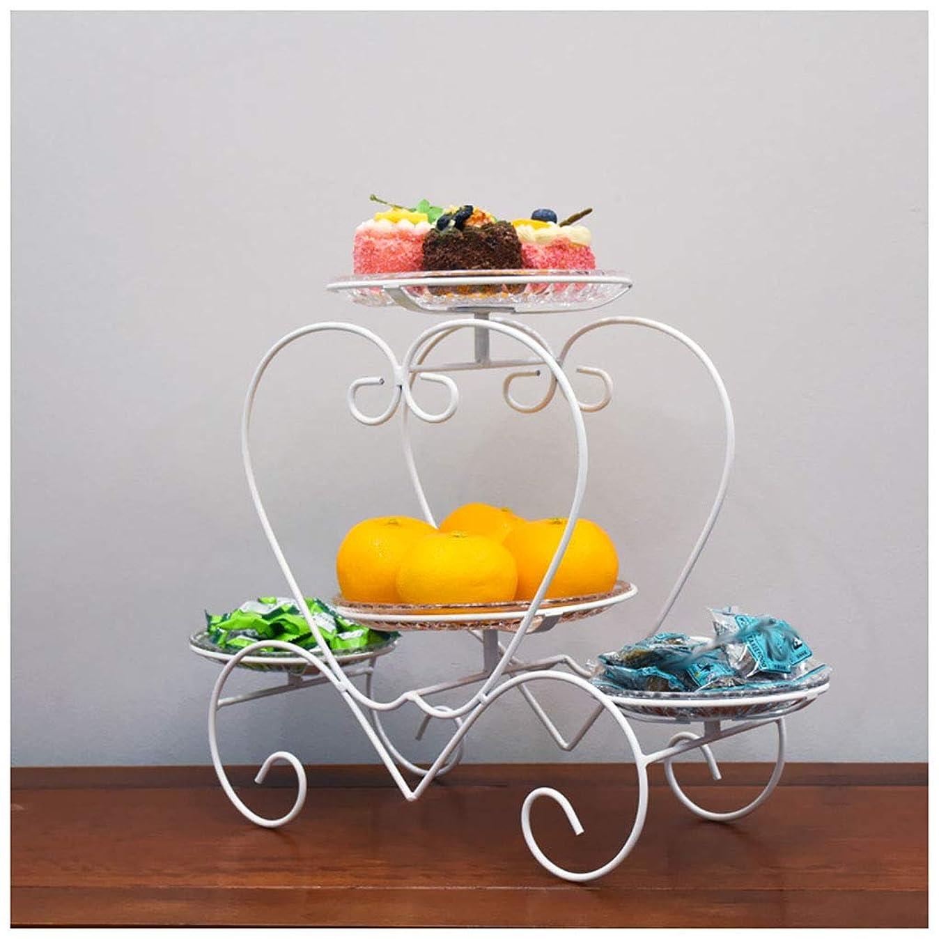 Fruit Bowls Household Fruit Bowl Metal Fruit Basket Vegetable Bowl Basket Rack Storage Stand Display for Parties Fruit Plates (color : White) c3206917896