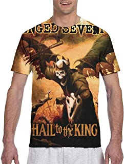 Man Avenged Sevenfold Hail to The King Classic Particular Short Sleeve T-Shirt