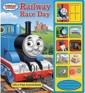Thomas The Train and Friends The Railway Race Day Sound Book for Little Hands