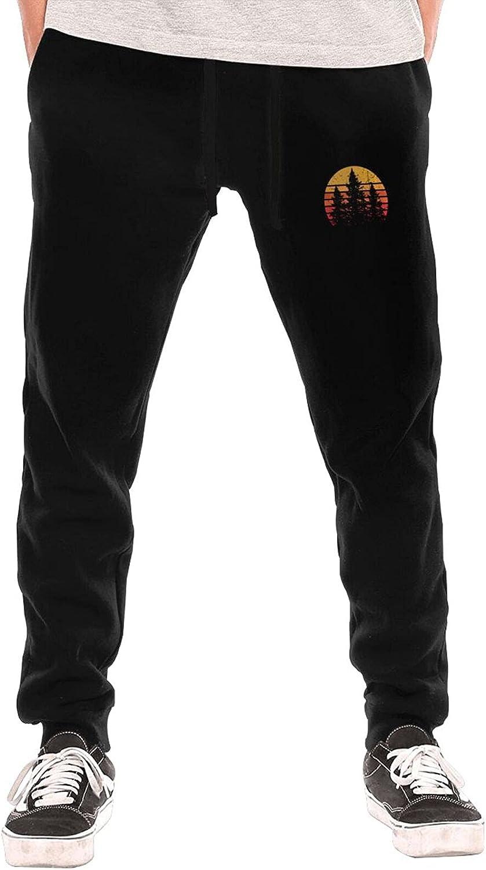 Bpauuiq List price Fashion Max 57% OFF Men's Sweatpants with Open Pockets Fleece Bottom