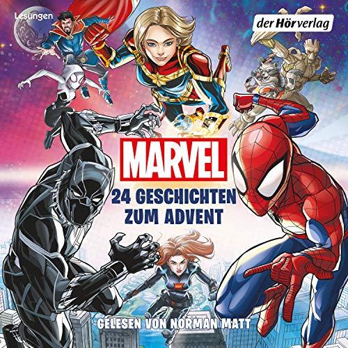 MARVEL - 24 Geschichten zum Advent Titelbild