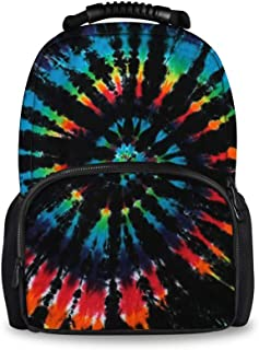 JACINTAN Tie Dye Travel Outdoor Backpacks Women Men