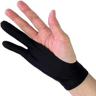 メディアカバーマーケット 【ペンタブレット 2本指 グローブ】 トレース台 右利き 左効き 両用 手袋 Lサイズ
