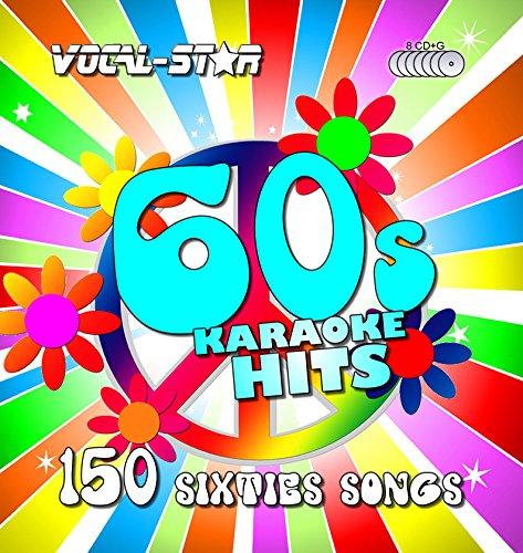 Vocal-Star 60er Jahre Karaoke CD CDG Disc Pack 8 CDs 150 Lieder