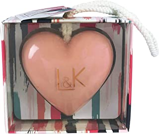 Technic Love & Kisses Heart Shaped Pink Fruity Scented Soap on a Rope Gift