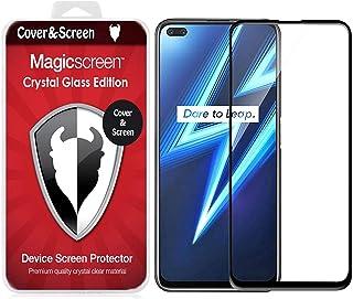 شاشة حماية من الزجاج بالكامل بدرجة امالة 5 لهاتف ريلمي 6 برو