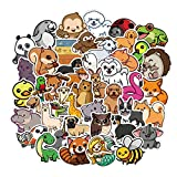 50PCS Nature Animal Stickers for Laptop Water Bottle Luggage Snowboard Bicycle Skateboard Decal for Kids Teens Adult Waterproof Aesthetic Stickers