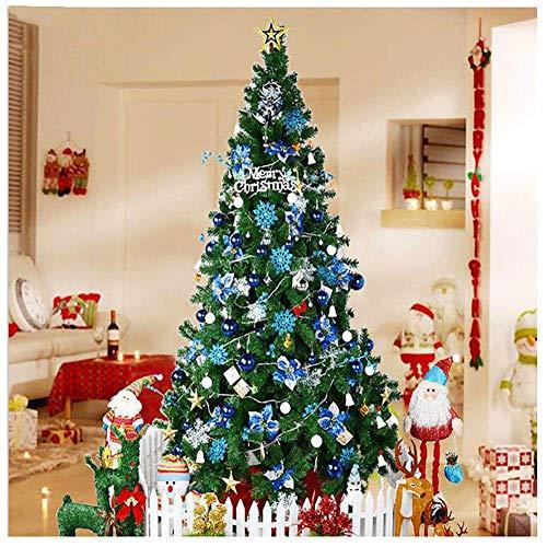 ZYQHJKLHK Árbol de Navidad Artificial de PVC, árbol de Navidad con bisagras...