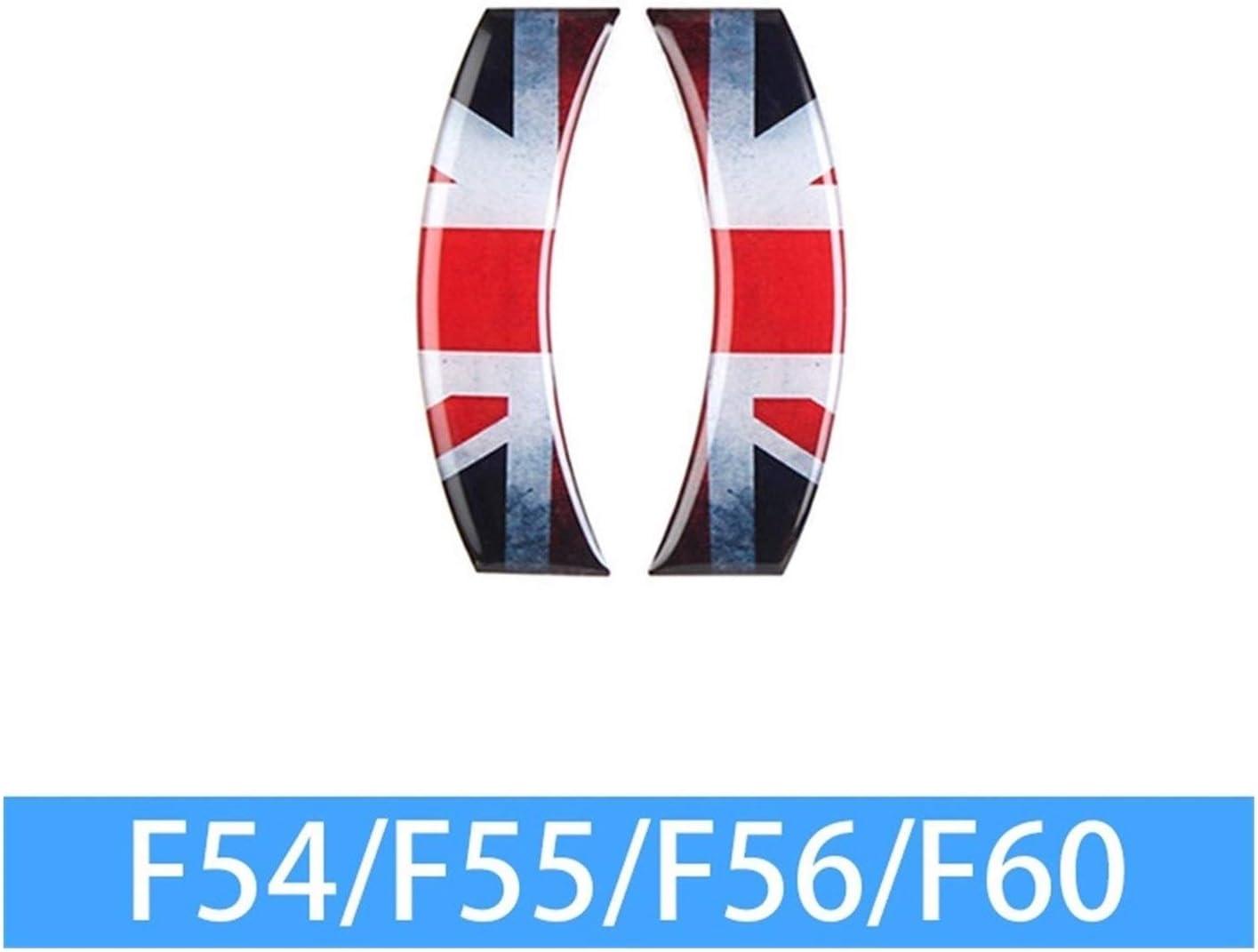 HTSM LCD Car 6.5 Pollici Autoadesivo Decorazione Dinterni Che Designa Gli Accessori per BMW Mini Cooper Clubman F54 F55 F56 F57 F60 Countryman Car Interior Raccordi Decorativo Color : 6