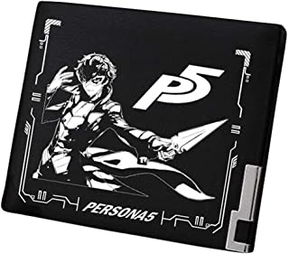 Gumstyle Persona Game Artificial Leather Wallet Billfold Money Clip Bifold Card Holder