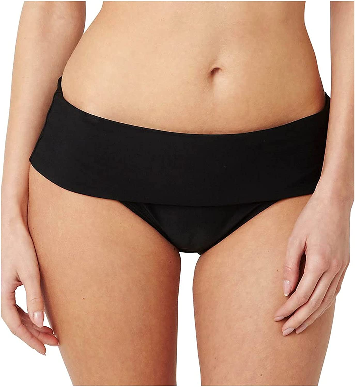 Panache Swim Women's Standard Anya Folded Bikini Bottom