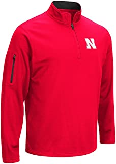 Colosseum NCAA Men's VF Poly Fleece 1/4 Zip Pullover