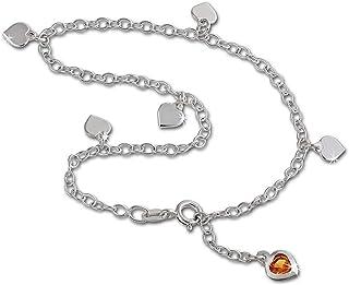 Bracelet de cheville 27cm Argent sterling 925 Ange Bijoux Pied SDF2174E SilberDream Chaine de Cheville