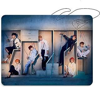 Teblacker BTS Mousepad, Kpop Bangtan Boys [Love Yourself 結 Answer] Rap Monster, JIN, SUGA, J-Hope, Jimin, V, and Jungkook Rectangle Mouse Pads for A.R.M.Y(Style 02)