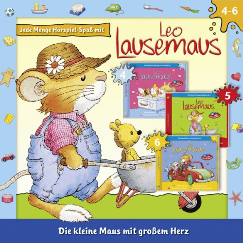 Leo Lausemaus 3er-Box: Folge 4 - 6 audiobook cover art